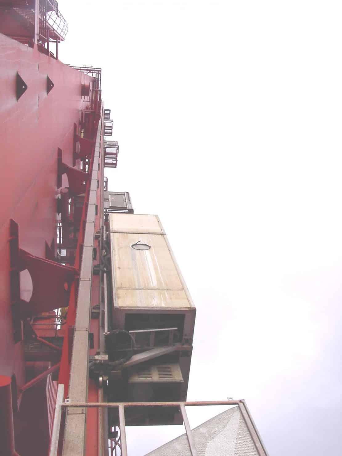 Industriële lift PE bij Heerama - De Balder - De Jong's Liften