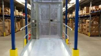 Intersafe De Jong Liften magazijnlift