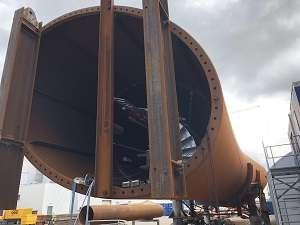 Onderhoudsvrij lift SL500 in Radartoren - De Jong's Liften