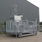 Robuuste goederenlift AT1250 - De Jong's Liften