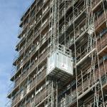 Vervoer personen en goederen op bouwproject - PT1000F en HP1000F - De Jong's Liften