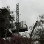 Veilig vervoer op bouwproject - Personen-/goederenlift PT2000A - De Jong's Liften