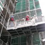 Veilig vervoer personen op bouwproject - personen-/goederenlift PT2000A - De Jong's Liften