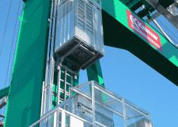 Industriële lift PE-serie met etagedeuren - De Jong's Liften