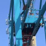 Industriële lift voor vervoer personen voor onderhoud - De Jong's Liften