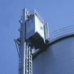 Industriële lift PE-serie - voldoet aan ATEX richtlijnen - De Jong's Liften