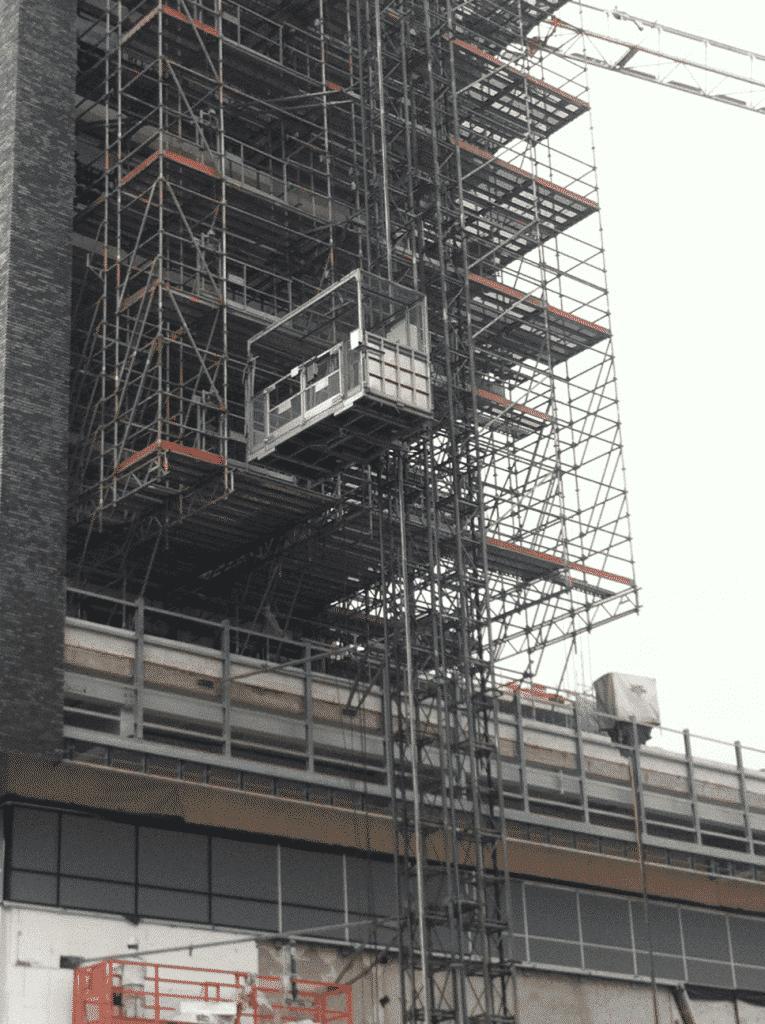Personen-/goederenlift Doornroosje Nijmegen - De Jong's Liften