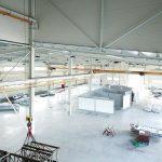 Binnenzijde productiefaciliteit De Jong's Liften in Tsjechië